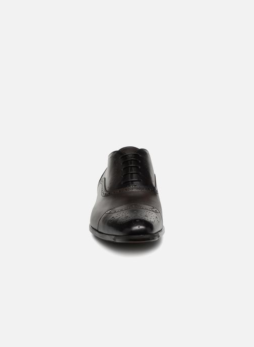 Lace-up shoes Santoni William 14431 Grey model view