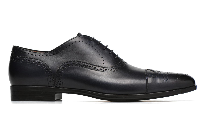 Snörade skor Santoni William 14431 Blå bild från baksidan