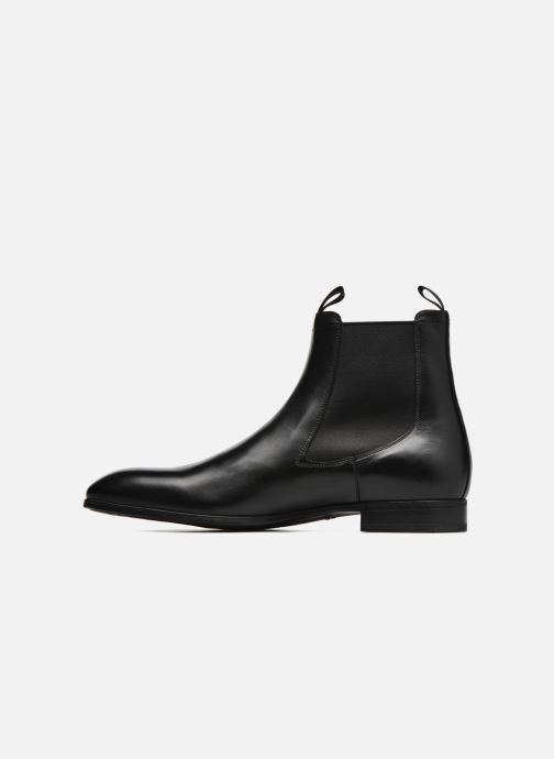 Ankle boots Santoni Simon 13414 Black front view