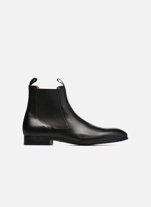 Ankle boots Santoni Simon 13414 Black back view