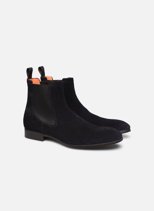 Boots en enkellaarsjes Santoni Simon 13414 Blauw 3/4'