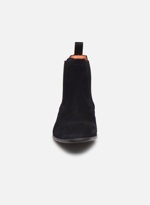 Boots en enkellaarsjes Santoni Simon 13414 Blauw model