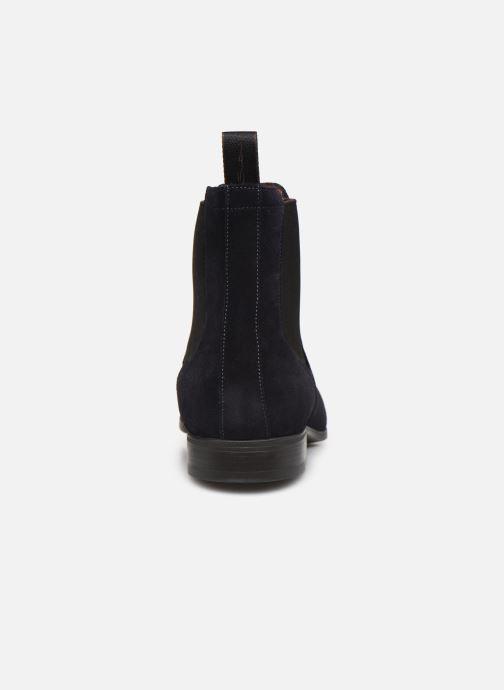 Boots en enkellaarsjes Santoni Simon 13414 Blauw rechts