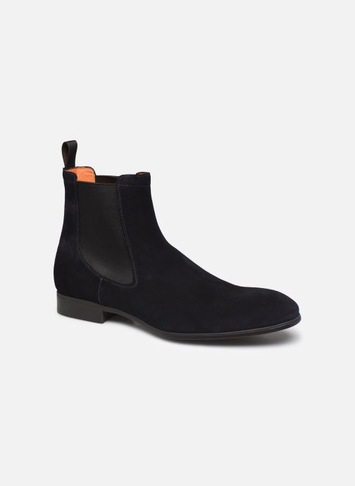 Boots en enkellaarsjes Santoni Simon 13414 Blauw detail