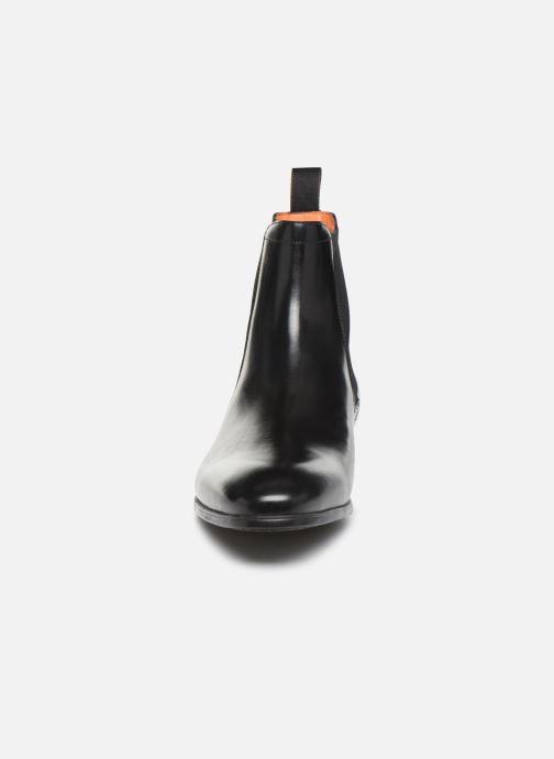 Bottines et boots Santoni Simon 13414 Noir vue portées chaussures