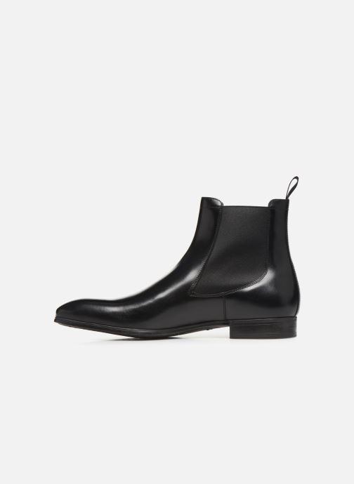 Bottines et boots Santoni Simon 13414 Noir vue face