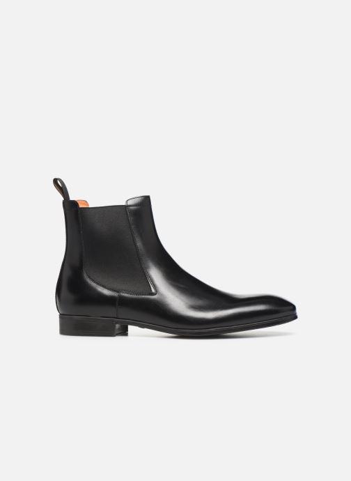 Boots en enkellaarsjes Santoni Simon 13414 Zwart achterkant