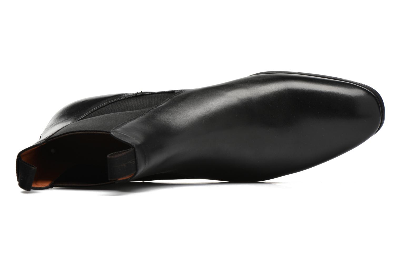Bottines et boots Santoni Simon 13414 Noir vue gauche