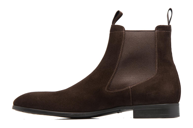 Bottines et boots Santoni Simon 13414 Marron vue face