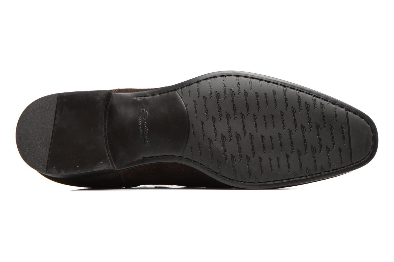 Bottines et boots Santoni Simon 13414 Marron vue haut