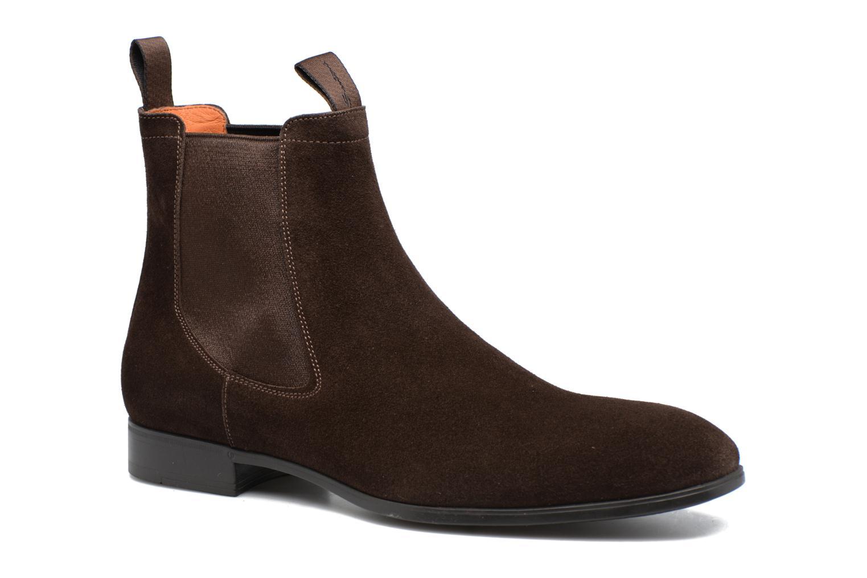 Bottines et boots Santoni Simon 13414 Marron vue détail/paire