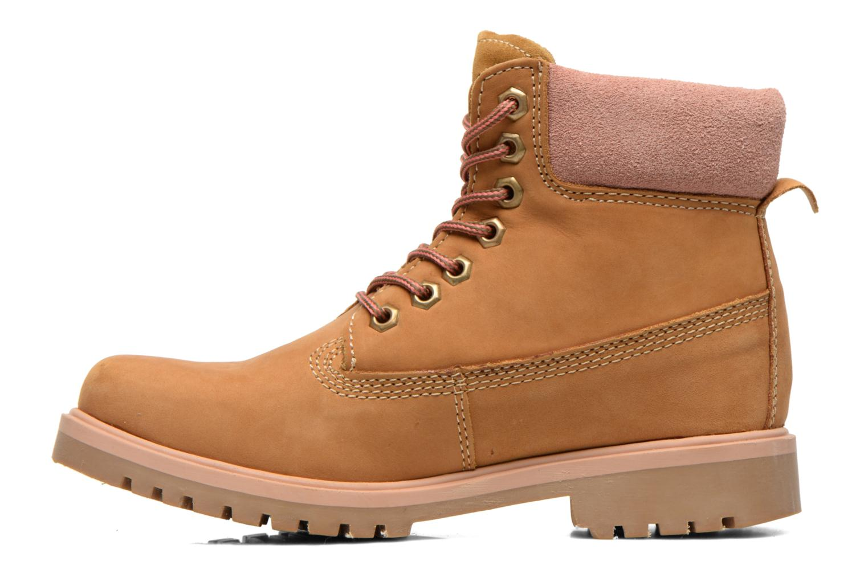 Boots en enkellaarsjes Coolway Basil Bruin voorkant