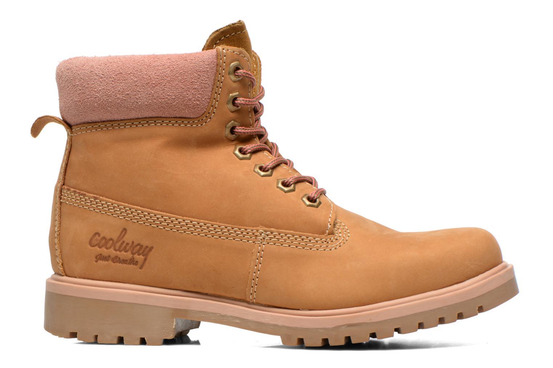 Boots en enkellaarsjes Coolway Basil Bruin achterkant