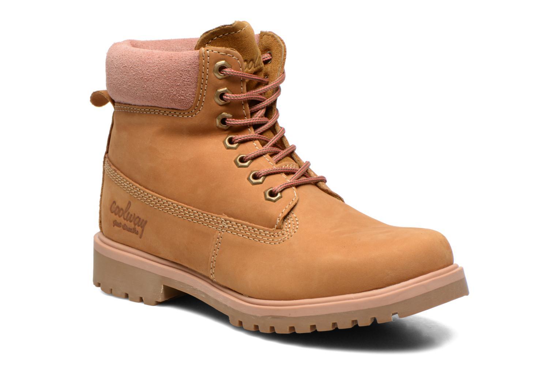 Boots en enkellaarsjes Coolway Basil Bruin detail