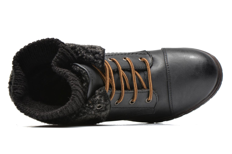 Bottines et boots Coolway Bring Noir vue gauche