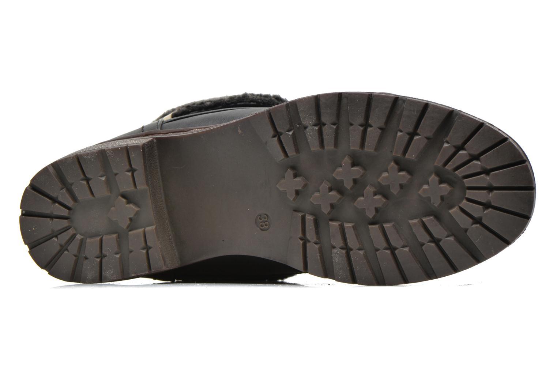 Bottines et boots Coolway Bring Noir vue haut