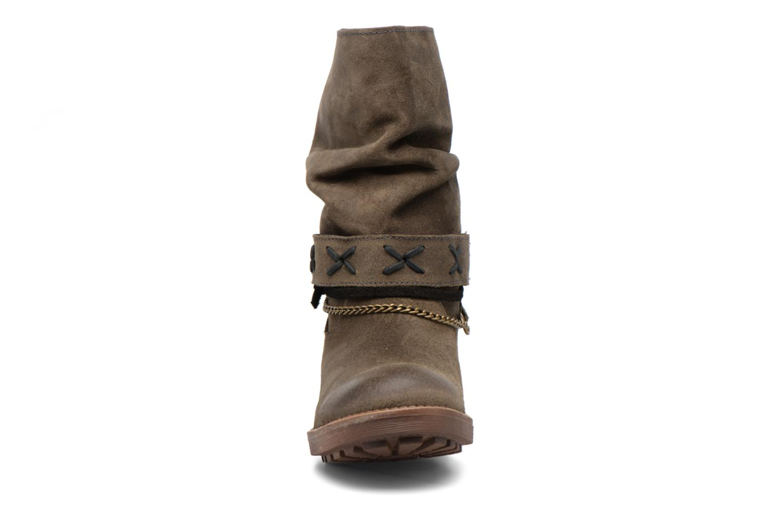 Bottines et boots Coolway Angus Marron vue portées chaussures