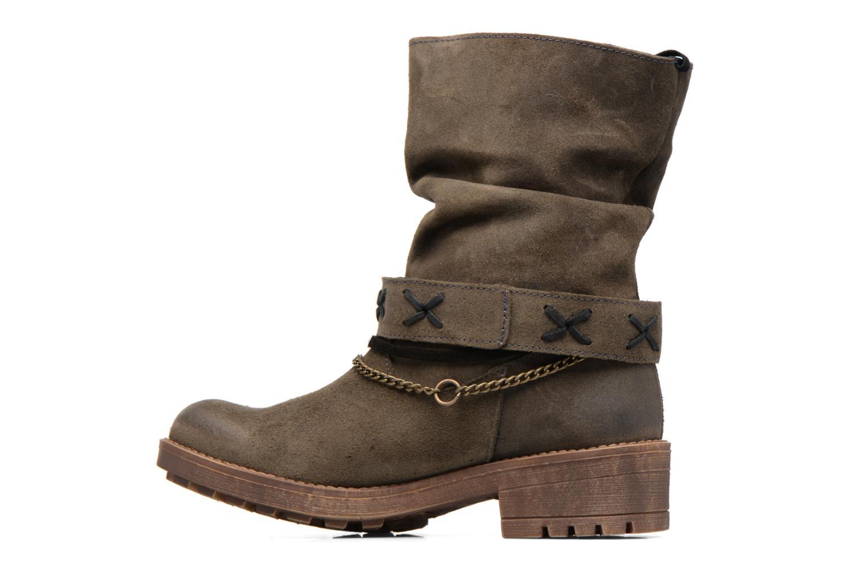 Bottines et boots Coolway Angus Marron vue face