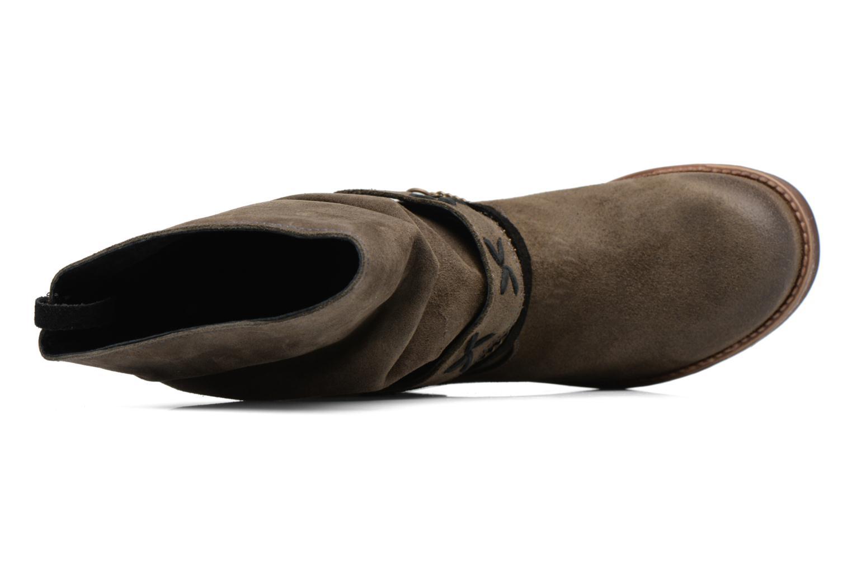 Bottines et boots Coolway Angus Marron vue gauche