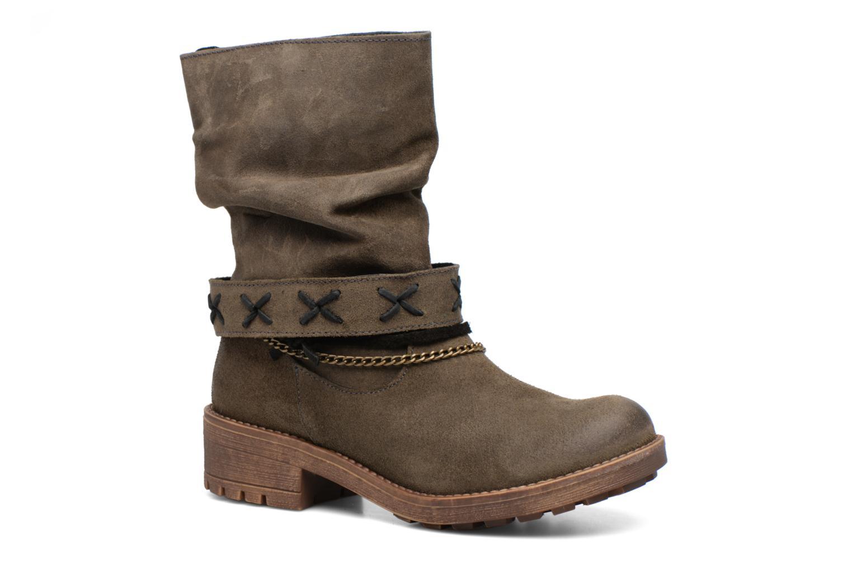 Boots en enkellaarsjes Coolway Angus Bruin detail