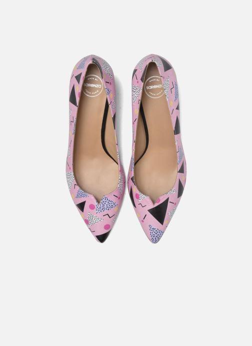 Escarpins Made by SARENZA Donut hut #4 Multicolore vue portées chaussures