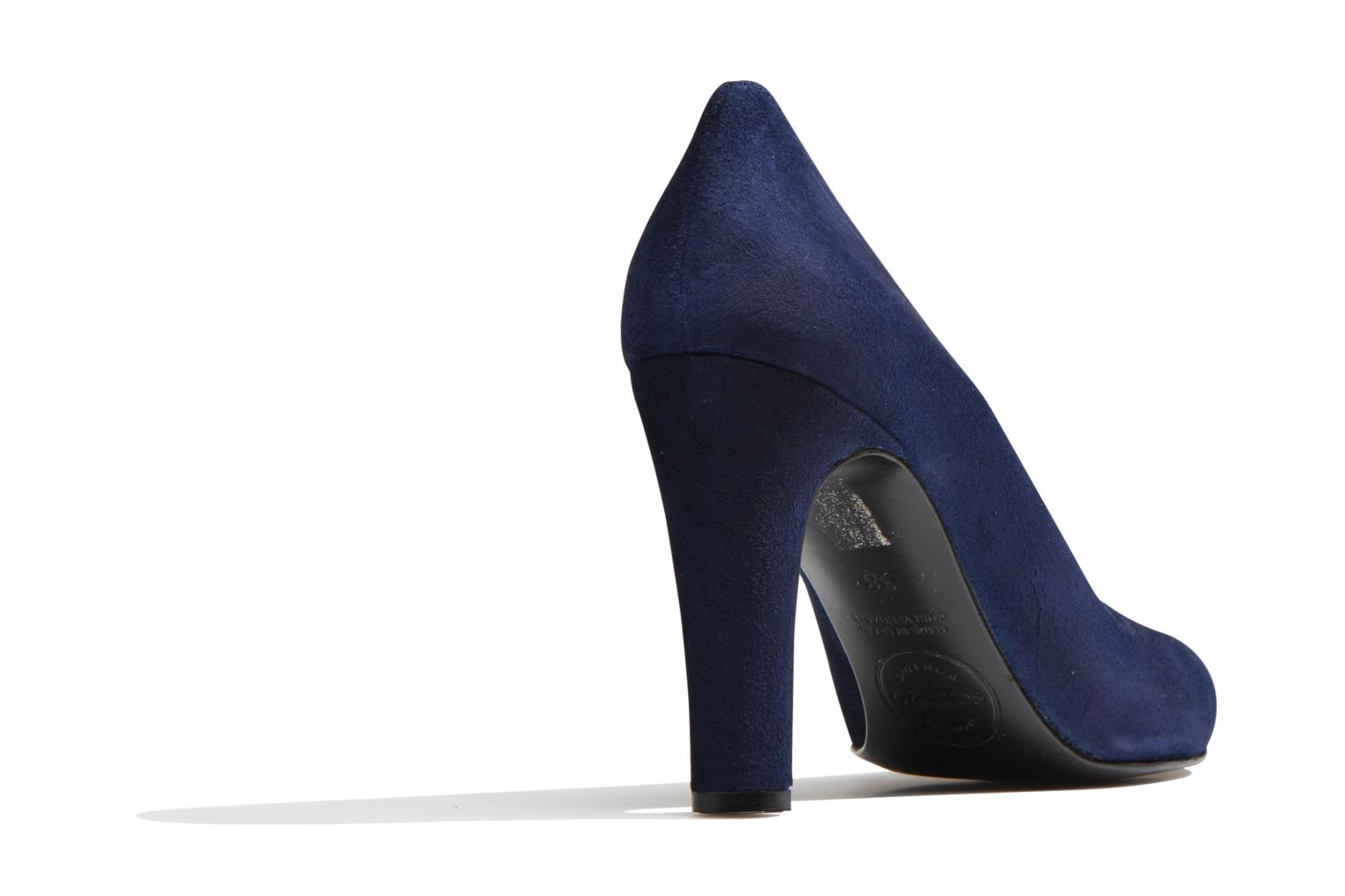 Pumps Made by SARENZA Western Fever #7 Blauw voorkant