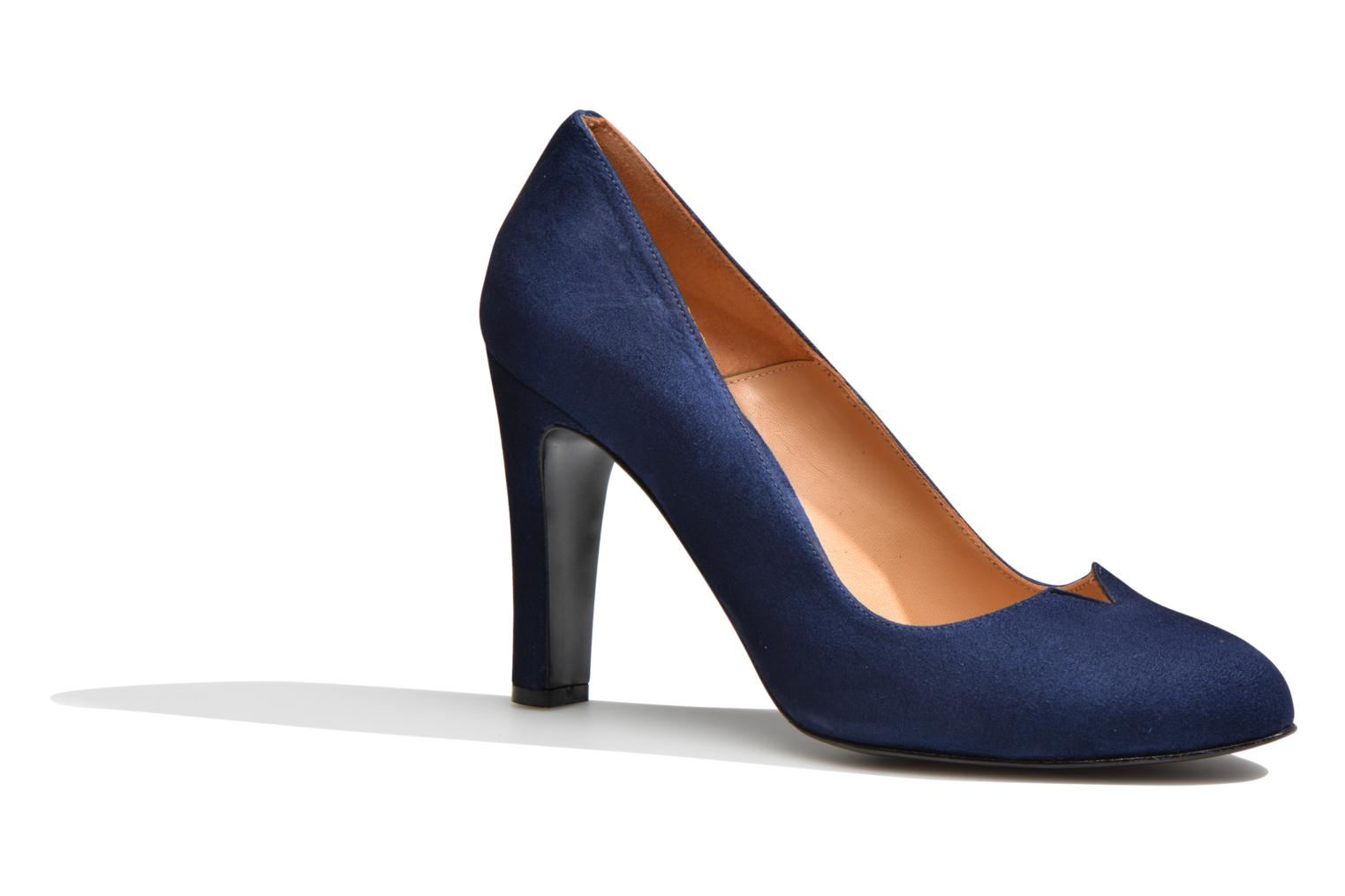 Pumps Made by SARENZA Western Fever #7 Blauw rechts