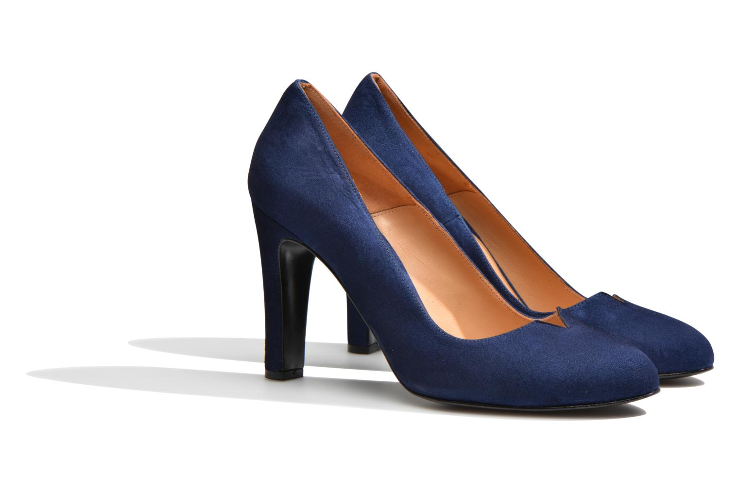 Pumps Made by SARENZA Western Fever #7 Blauw achterkant