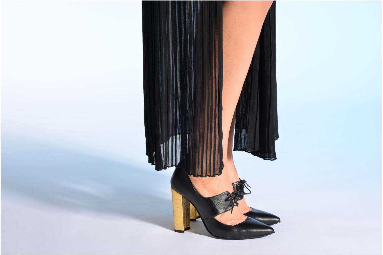 Escarpins Made by SARENZA Flore Thirties #10 Noir vue bas / vue portée sac