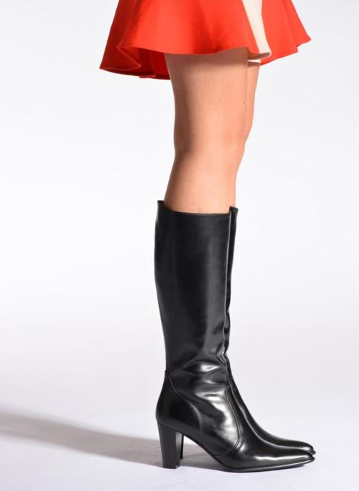 Boots & wellies Perlato Phefo Black view from underneath / model view