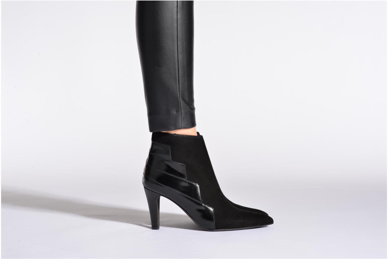 Bottines et boots Perlato Prugo Noir vue bas / vue portée sac