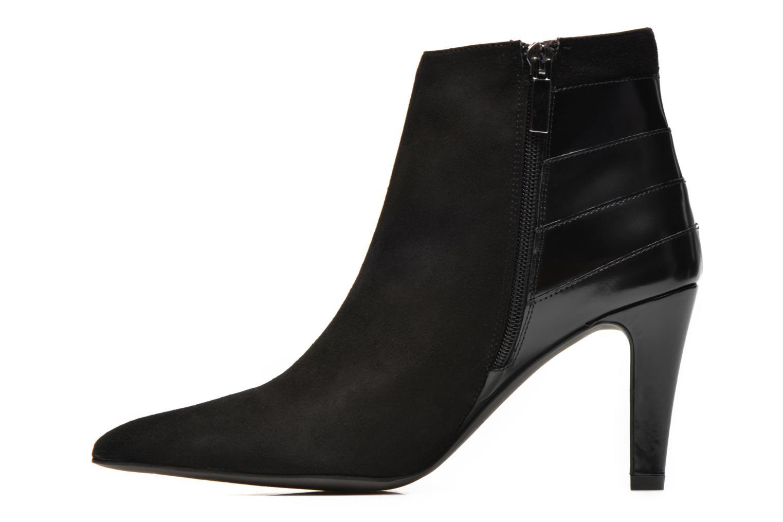 Bottines et boots Perlato Prugo Noir vue face