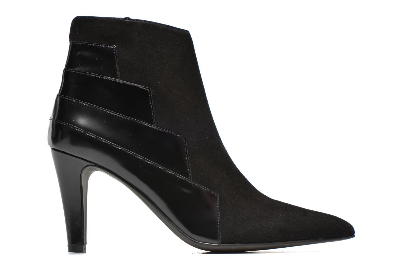 Bottines et boots Perlato Prugo Noir vue derrière