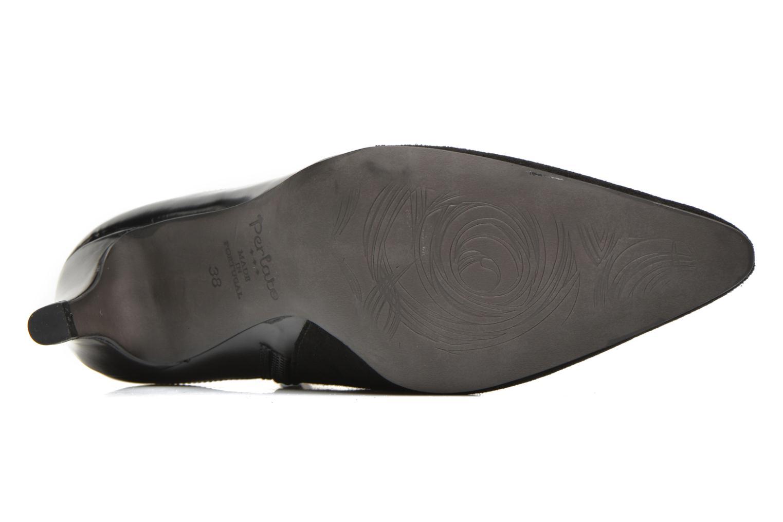 Bottines et boots Perlato Prugo Noir vue haut