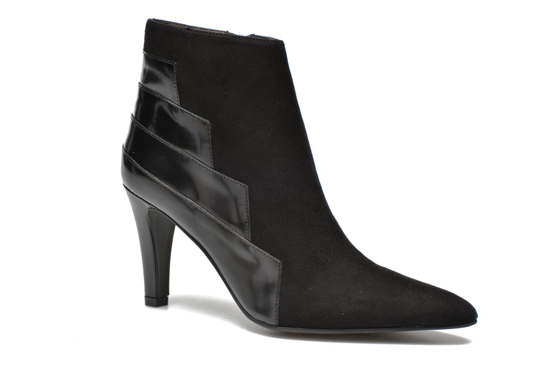 Bottines et boots Perlato Prugo Noir vue détail/paire