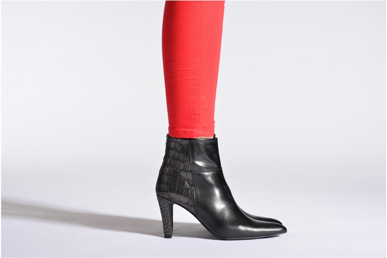 Bottines et boots Perlato Poobe Noir vue bas / vue portée sac