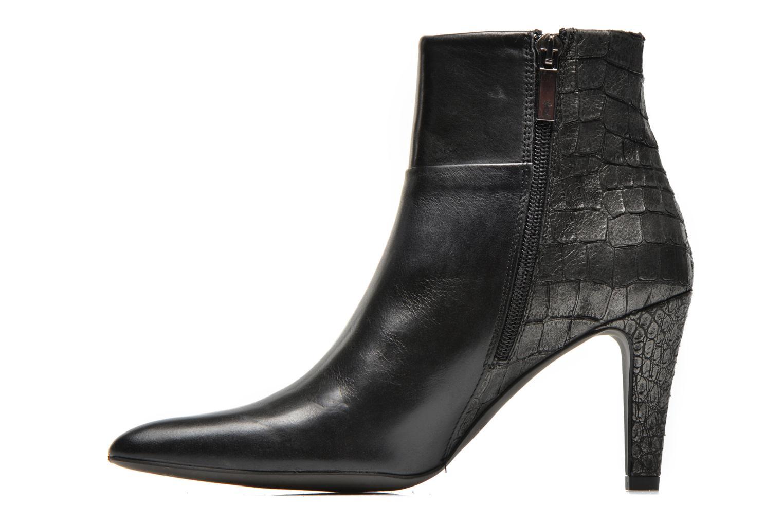 Bottines et boots Perlato Poobe Noir vue face