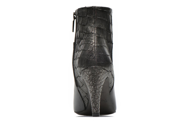 Bottines et boots Perlato Poobe Noir vue droite
