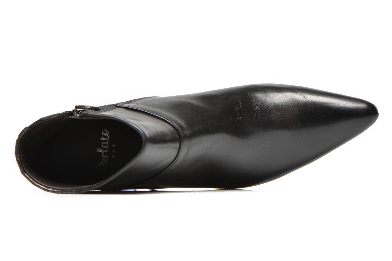 Bottines et boots Perlato Poobe Noir vue gauche