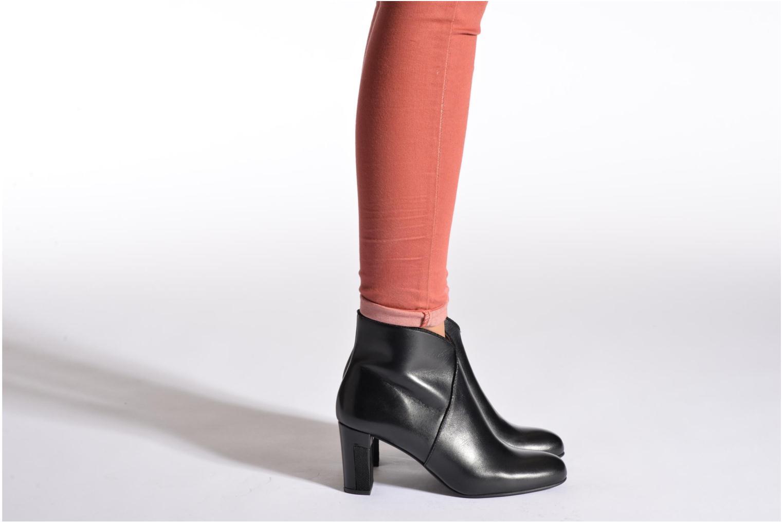 Bottines et boots Perlato Plapo Noir vue bas / vue portée sac