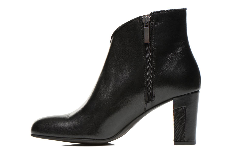 Bottines et boots Perlato Plapo Noir vue face