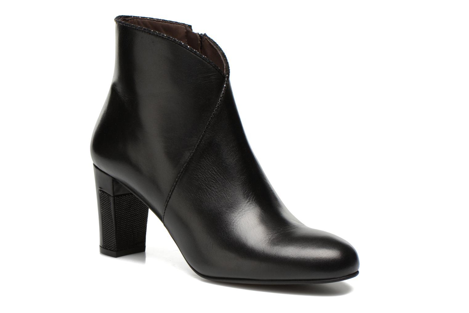 Bottines et boots Perlato Plapo Noir vue détail/paire