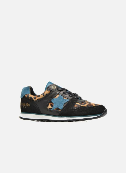 Sneakers Pantofola d'Oro Lecce Low Zwart achterkant