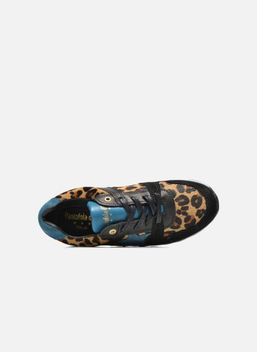 Sneakers Pantofola d'Oro Lecce Low Zwart links