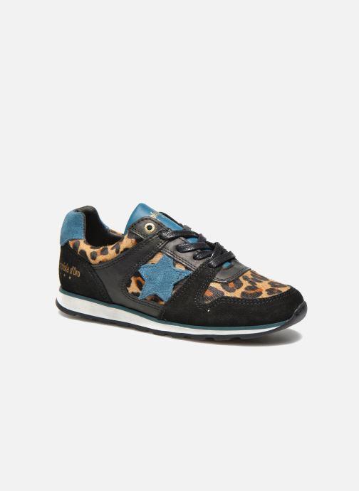 Sneakers Pantofola d'Oro Lecce Low Zwart detail