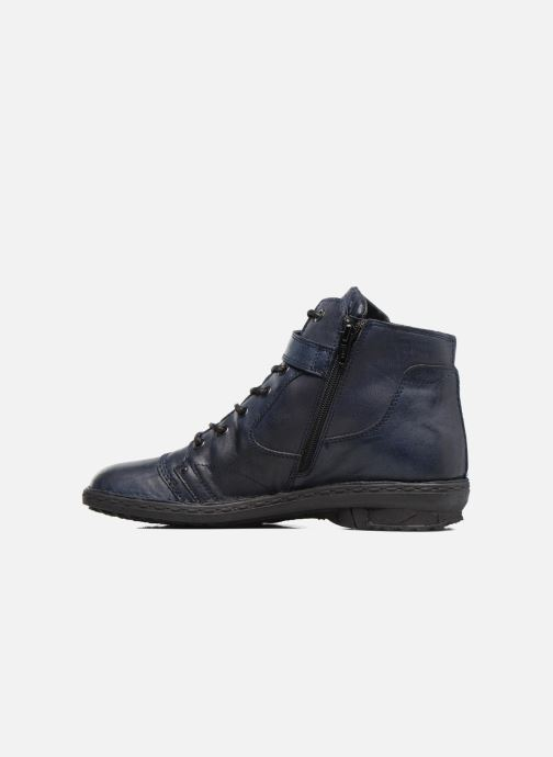 Ankle boots Khrio Rehayen Blue front view
