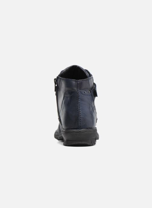 Ankle boots Khrio Rehayen Blue view from the right