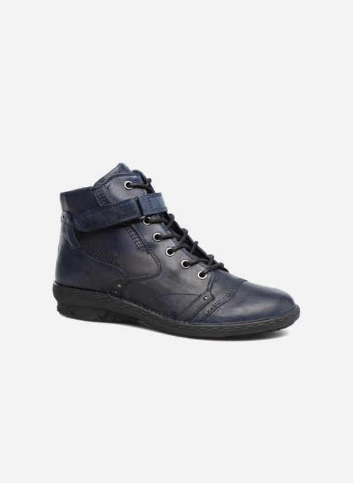 Ankle boots Khrio Rehayen Blue detailed view/ Pair view