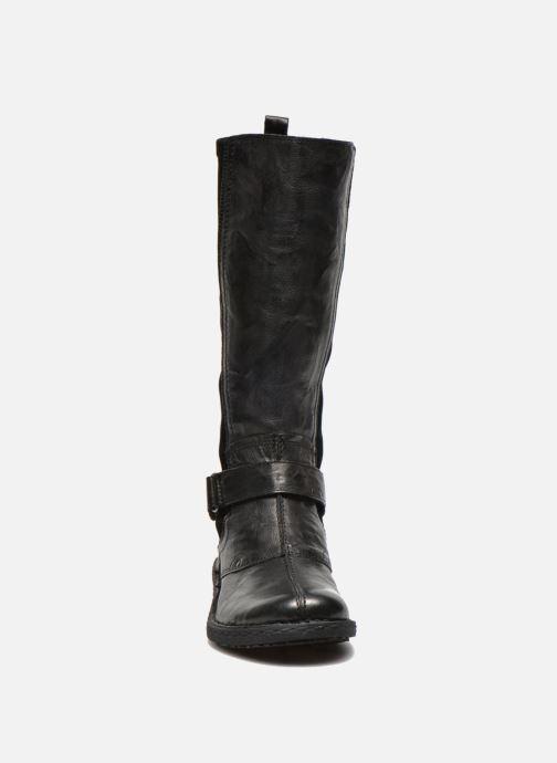 Bottes Khrio Reandria Noir vue portées chaussures