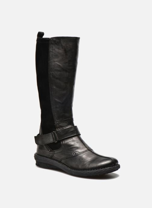 Boots & wellies Khrio Reandria Black detailed view/ Pair view